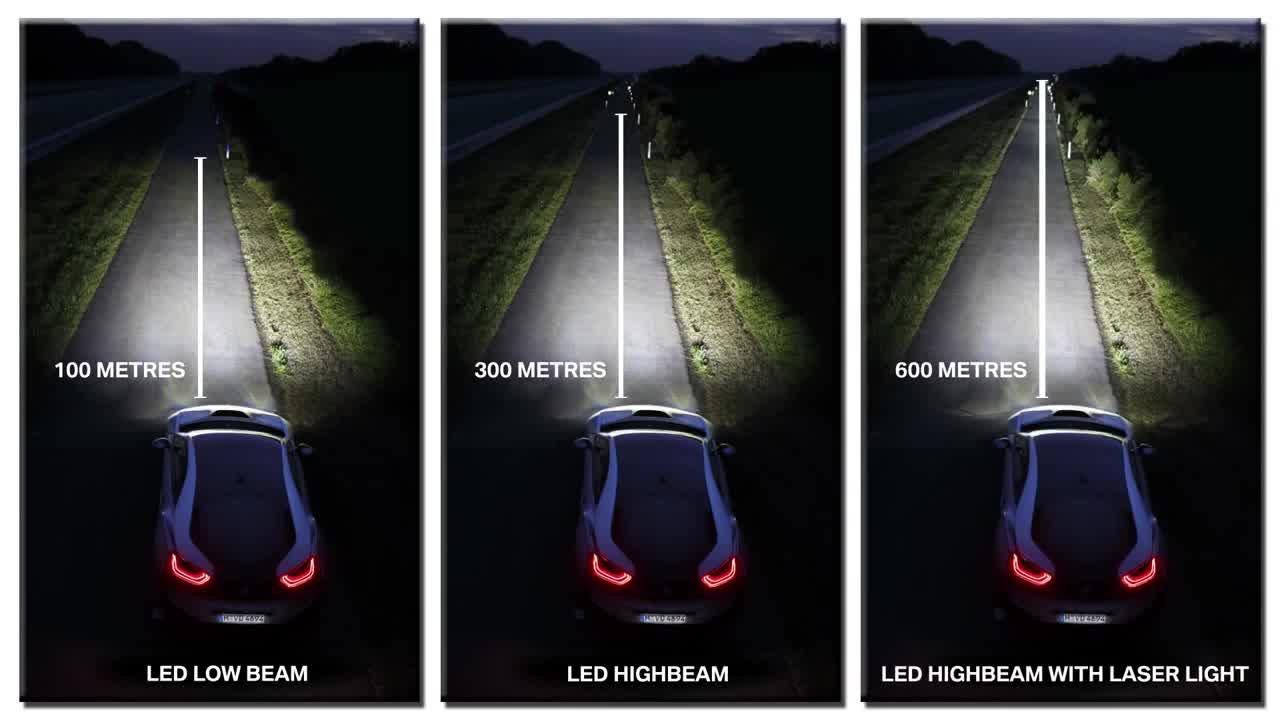 BMW sẽ trang bị đèn pha laser cho chiếc i8