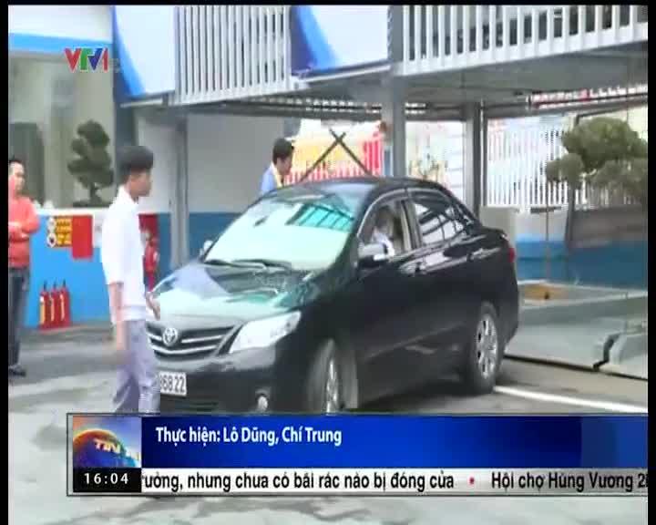Hà Nội khánh thành giàn thép đỗ xe 4 tầng