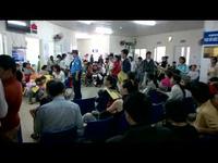 Đà Nẵng: Bệnh nhi nhập viện tăng cao