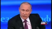 Tổng thống Putin họp báo trực tiếp với 1.200 nhà báo