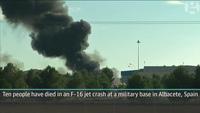 Hy Lạp: Rơi máy bay quân sự, 10 người thiệt mạng