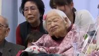 Người già nhất thế giới mừng thọ 117 tuổi