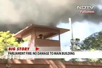 Cháy lớn tại tòa nhà Quốc hội Ấn Độ