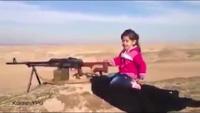 """Video bé gái người Kurd """"bắn hạ 400 phiến quân IS"""" gây sốt trên mạng"""