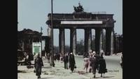 Công bố đoạn phim màu về Berlin sau Thế chiến II