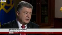 Tổng thống Poroshenko: Ukraine đang trong cuộc chiến với Nga