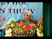 GS. TS Phạm Tất Dong - Phó Chủ tịch kiêm Tổng thư ký TW Hội KHVN phát biểu