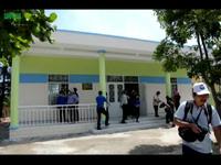 Khánh thành trường mẫu giáo kiêm nhà tránh bão ở đảo Bé (Lý Sơn)