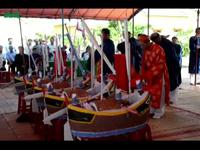 Lễ khao lề thế lính Hoàng Sa tiễn đưa hùng binh trên thuyền câu