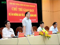 Phó Thủ tướng đề cập đến công tác giải phóng mặt bằng