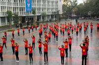 SV ĐH Y - Dược Huế nhảy flashmob ấn tượng mừng thầy cô giáo ngày 20-11