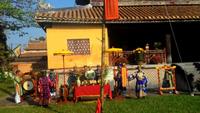 Mùng 7 - Lễ hạ nêu trong Hoàng cung Huế báo hiệu Tết đã hết