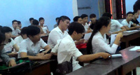 Huế - Thí sinh dự thi xét tốt nghiệp vui vẻ, thoải mái buổi tập trung