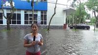Hải Phòng lụt nặng sau bão số 3