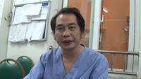 TS.BS Nguyễn Trung Cấp- Phó trưởng khoa Cấp cứu, BV Nhiệt Đới TW