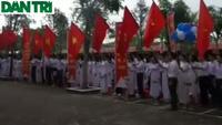 Học sinh xứ Thanh rộn ràng khai giảng năm học mới
