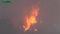 Cháy nổ tại xưởng gỗ rộng hàng ngàn m2