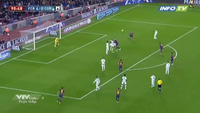 Messi hoàn tất cú đúp, ấn định thắng lợi 5-0 cho Barca trước Cordoba