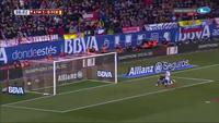 Neymar gỡ hòa 1-1 cho Barca trước Atletico