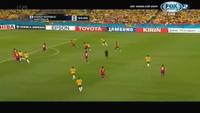 Massimo Luongo mở tỉ số cho Australia trước Hàn Quốc
