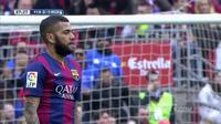 Những khoảnh khắc Barcelona bị đánh gục bởi Malaga