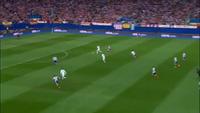 Atletico và Real Madrid bất phân thắng bại ở Vicente Calderon