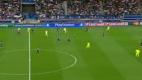 Neymar mở tỉ số cho Barca trước PSG