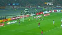 Vargas mở tỉ số 1-0 cho Chile trước Peru