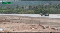 Hiện trường vụ tai nạn máy bay tại đảo Phú Quý