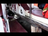 Hàng chục cảnh sát, kiểm lâm bắt xe chở gỗ lậu