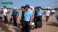 Thiếu tướng Đỗ Minh Tuấn trực tiếp chỉ đạo tìm kiếm máy bay mất tích