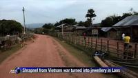 Vỏ bom trong Chiến tranh Việt Nam trở thành trang sức đắt giá