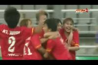 Nữ Việt Nam 2-1 Nữ Thái Lan: Tuyết Dung sửa sai