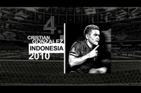 4. Christian Gonzalez (Indonesia - 2010)