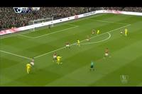 1. Pha cản phá của De Gea ở phút 11