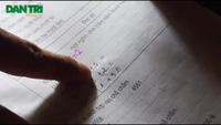 """""""Học sinh lớp 5 không viết được tên mình"""" đã được đưa đi khám sức khỏe"""