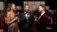John Legend & Chrissy Teigen đẹp đôi dự Grammy