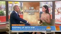 Kim Kardashian trả lời phỏng vấn trên truyền hình