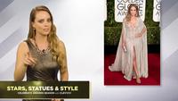 Mặc đẹp như Jennifer Lopez tại lễ trao giải Quả cầu vàng 2015