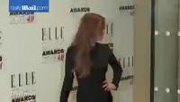 Lindsay Lohan cuốn hút tại lễ trao giải thời trang Elle