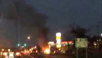 Siêu xe Porsche 918 Spyder bị lửa thiêu rụi