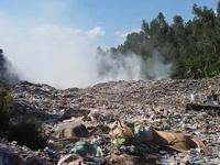 Bãi rác đe dọa người dân ở Hậu Giang