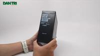 Đập hộp Blackberry Passport phiên bản màu trắng chính hãng tại Việt Nam