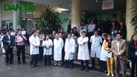 Hà Nội: Diễn tập tập phòng, chống bệnh do vi rút Ebola tại BV Nhiệt đới