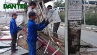 Hà Nội: Tháo dỡ Trạm trung chuyển xe buýt sau gần 10 năm hoạt động