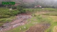 Sơn La: Người dân liều mình vớt củi khi dòng nước lũ ập đến