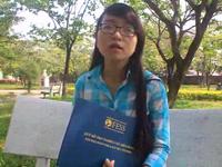 Cô sinh viên đất võ Bình Định đạt giải xuất sắc Nghiên cứu Hoàng Sa, Trường Sa