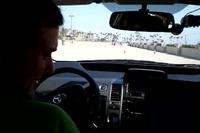Bên trong chiếc xe hơi được trang bị hệ thống tự lái của Google