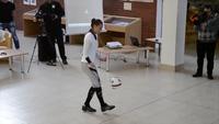 Màn trình diễn vừa tâng bóng vừa nhảy dây của Adrienn Banhegy (1)