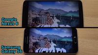 Video so sánh khả năng xử lý đồ họa khi chơi game trên Nexus 6 và Galaxy S6